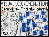 Visual Discrimination Letter Mats