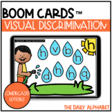Visual Discrimination (Lowercase Letters) BOOM CARDS