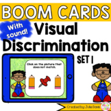 Visual Discrimination Matching Pictures Set 1 Digital Game Boom Cards