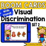 Visual Discrimination Matching Pictures Set 2 Digital Game Boom Cards