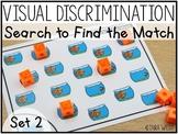 Visual Discrimination Search Mats