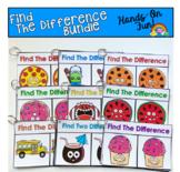 Visual Discrimination Skills Practice Bundle