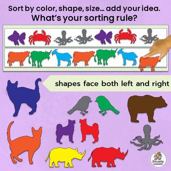 Sort and Classify: Same and Different MEGA BUNDLE (7 Sets!)