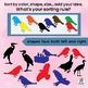 Visual Discrimination ~ Sort and Classify Birds.