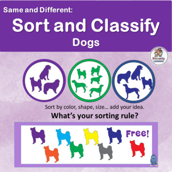 Visual Discrimination ~ Sort and Classify Dogs.