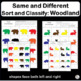 Visual Discrimination ~ Sort and Classify Woodland Animals