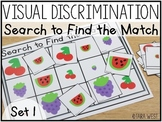 Visual Discrimination Sorting Mats & Cards