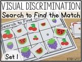 Visual Discrimination Sorting Mats & Cards