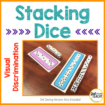 Visual Discrimination - Stacking Dice