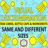 Visual Discrimination Task Cards/Worksheets for Same & Dif