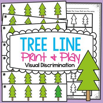 Visual Discrimination - Winter Trees