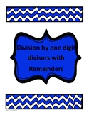 Visual Division with Remainders sample