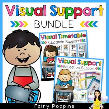 Visual Education Supports Bundle (Students With Special Needs)