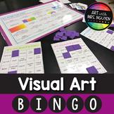 Visual Art Bingo