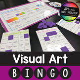 Visual Art Bingo