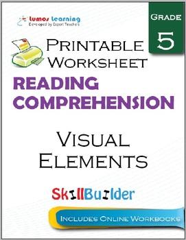 Visual Elements Printable Worksheet, Grade 5