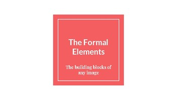 Visual Elements and Compositional Principles