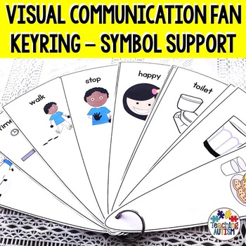 Visual Fan Keyring, Autism and Special Education