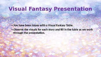 Visual Fantasy Introduction