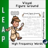 Visual Figure Ground Worksheets - High Frequency Words - D