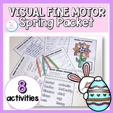 Spring Visual Motor Activity Packet: NO PREP