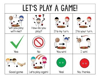 Visual Game Supports for Autism, ABA and Special Education *Growing Resource