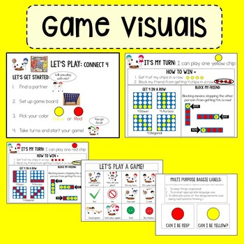 Visual Game Supports for Autism, ABA and Special Education
