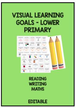 Visual Learning Goals - Work Desk Goal Pencil