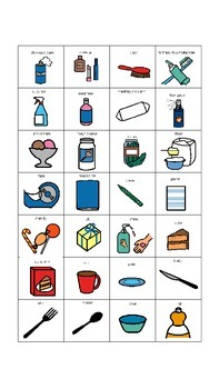Visual Grocery List