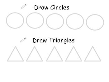 Visual Handwiting Practice