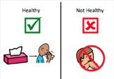 Visual Healthy vs. Unhealthy Freebie!!