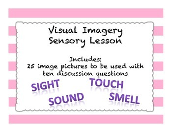 Visual Imagery Sensory Activity - Imagery in Pictures