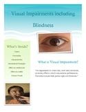 Visual Impairment Brochure for Parents and Teachers