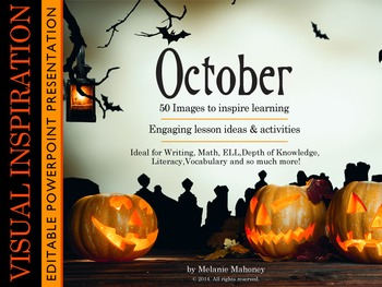 October Photo Presentation: Editable PowerPoint Presentation