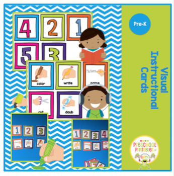 Visual Instructional Cards - over 40 cards