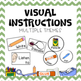 Visual Instructions - Tropical Themed
