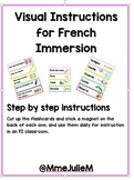Visual, Step-by-step instructions - Flashcards- Étapes d'i