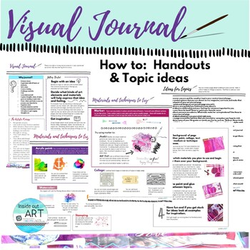 Visual Art Journal Cover Ideas And Prompts