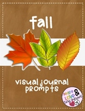Visual Journal Prompts for Pre-K and K: Fall!