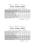 Visual Journal Rubric (Art Assessment)