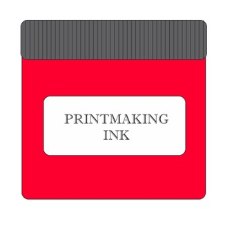 Visual Labels for Printmaking (Linocut)