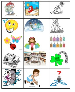 Visual Learning - additional images for Avancemos 1 U4L1