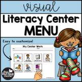 Visual Literacy Center Menu