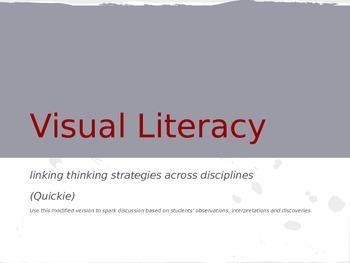 Visual Literacy: Close Reading Informational Text through Art