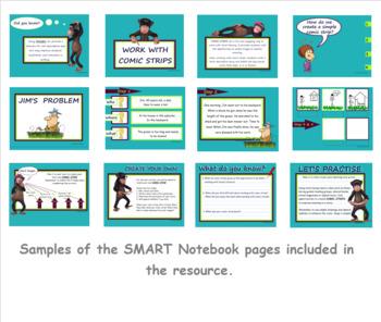 Visual Literacy – Comic Strips / Writing – Year 3 & 4