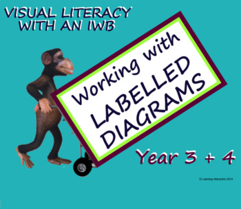 Visual Literacy - Labelled Diagrams - Year 3 + 4