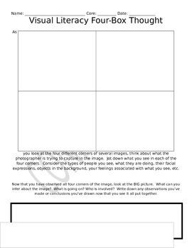 Visual Literacy Photo Analysis