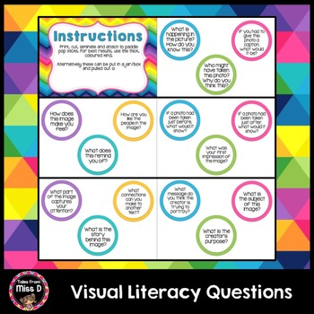 Visual Literacy Questions