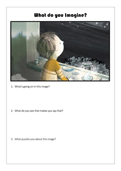 Visual Literacy Worksheets for Year 7 English
