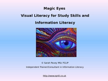 Use Visual Literacy techniques to teach Study Skills and Information Literacy
